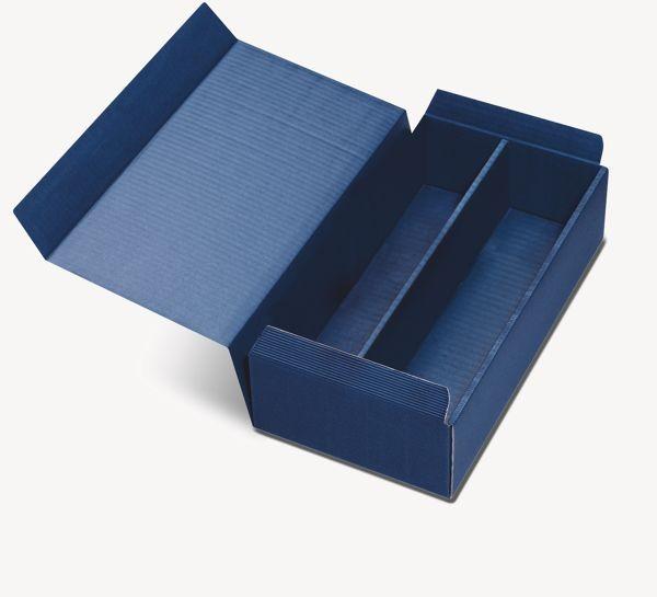 geschenkverpackung 2 flaschen blau. Black Bedroom Furniture Sets. Home Design Ideas